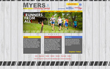 Myers Running Camp  website done in Wordpress